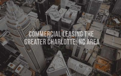 Commercial leasing the greater Charlotte, NC area