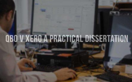 QuickBooks Online (QBO) vs Xero a practical dissertation