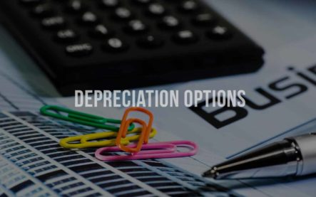 Depreciation options