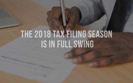 The 2018 tax filing season is in full swing