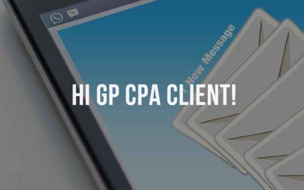 Hi GP CPA Client!