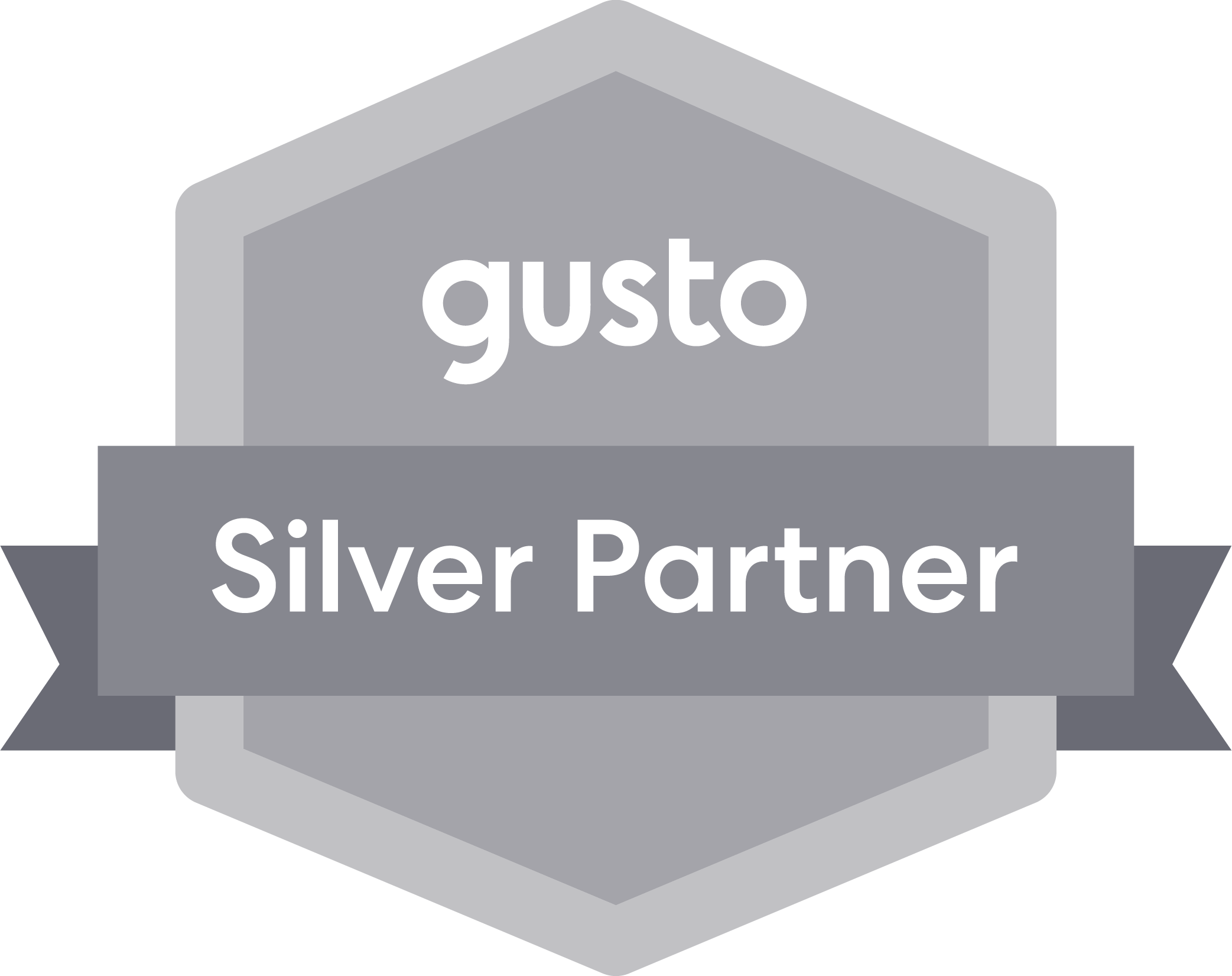 GP CPA Gusto Silver Partner Badge » Certified Public Accountant using Xero, Avalara and Gusto to make your payroll and taxes easier, serving in North Carolina and South Carolina